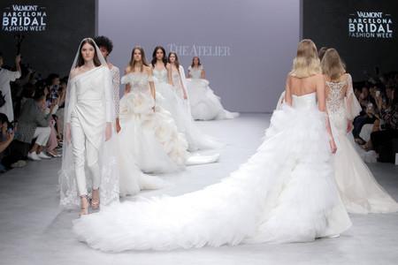 Vestidos de novia The Atelier 2020: glamur y sofisticación