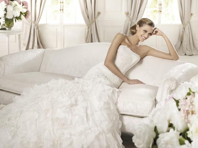 Descubre lo último de Pronovias en la Barcelona Bridal Week