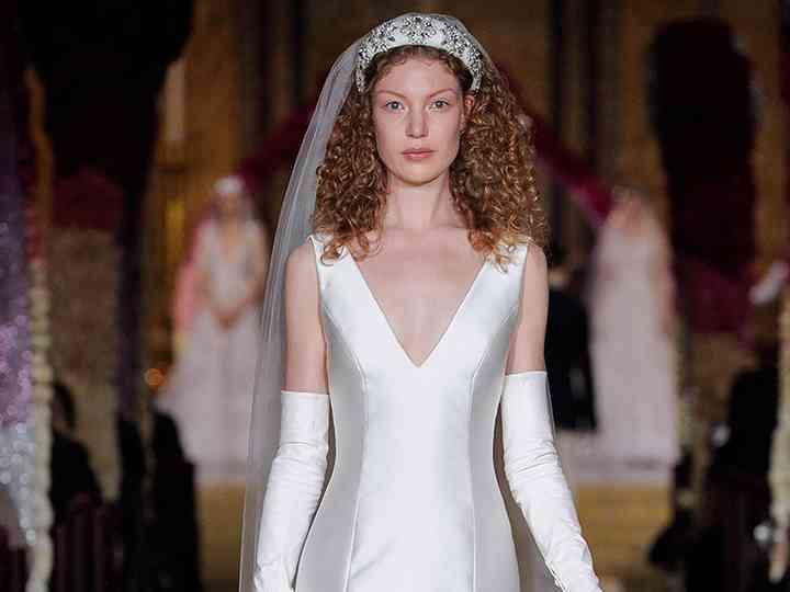 Vestidos de novia Reem Acra 2020: bohemios y originales
