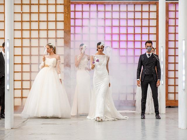 """Vestidos de novia 2021 de Jordi Dalmau: una auténtica """"revolución"""""""