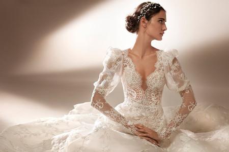 Vestidos de novia con mangas: más de 150 increíbles propuestas