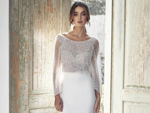 Vestidos de novia Anna Campbell 2020: look delicado