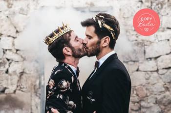 """Decid """"sí, quiero"""" a los 10 detalles más top de la boda de Pelayo Díaz y Andy McDougall"""
