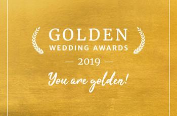 ¡Ya tenemos ganadores de la 5ª edición de los Golden Wedding Awards!