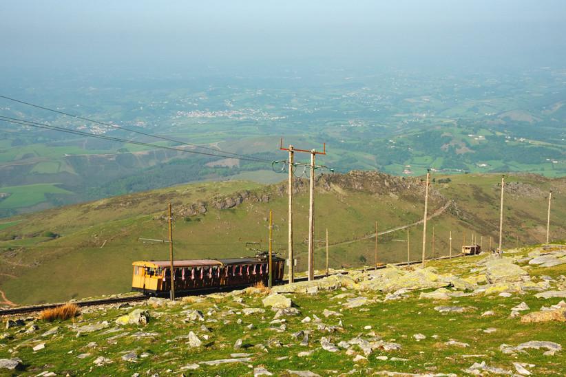 País Vasco francés, Larrún, tren cremallera