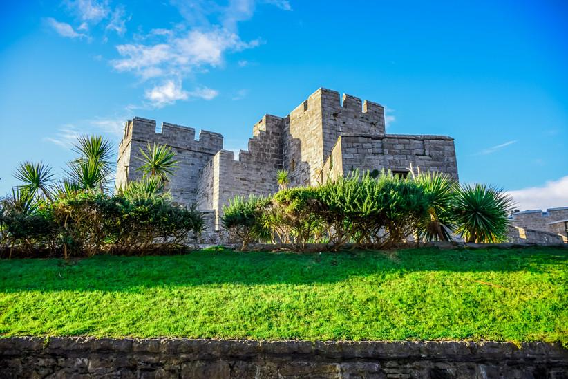 Luna de miel o viaje a la isla de Man, Castletown, castillo Rushen
