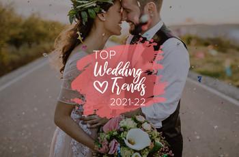 Tendencias de bodas 2021-2022: ¡estas son las más populares!