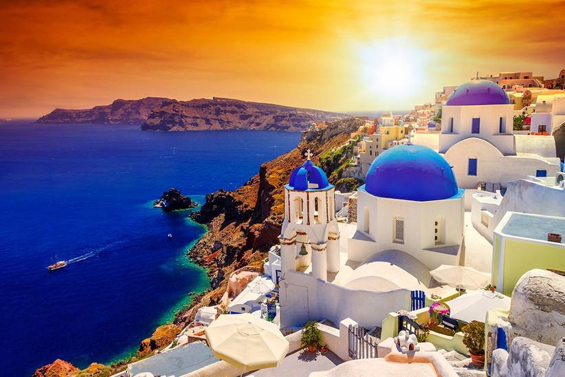 Santorini Grecia Oía, un destino perfecto antes o después de la boda