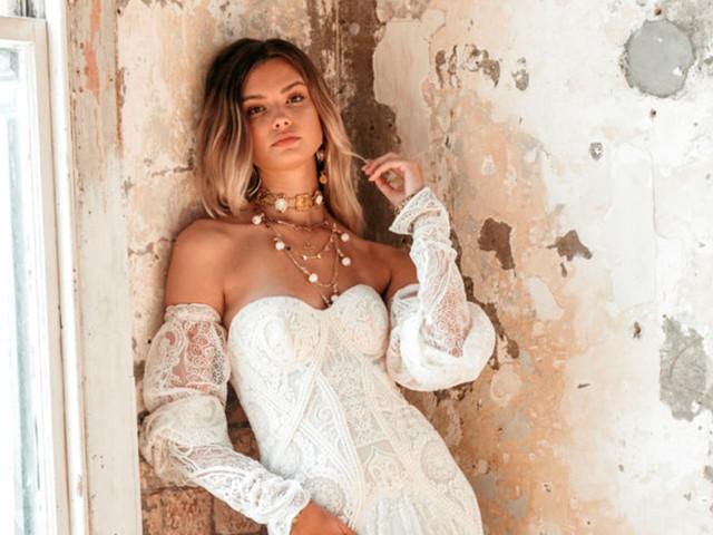 No te pierdas los vestidos de novia de Rue de Seine 2021 si te va lo moderno con un toque bohemio