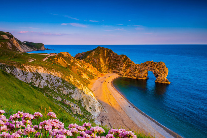 Costa Jurásica en el sur de Inglaterra