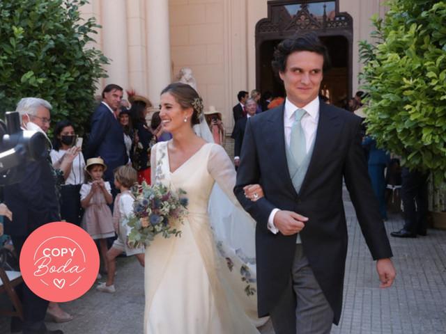 ¿Te ha gustado el vestido de novia de María Corsini? Copia su look y triunfa en tu boda