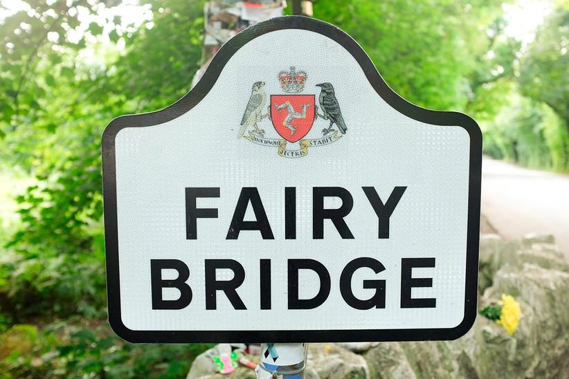 Luna de miel o viaje a la isla de Man, puente de las hadas o Fairy Bridge