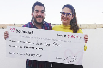 ¡Ganad 5000 euros con Bodas.net! ¿Seréis la pareja afortunada?