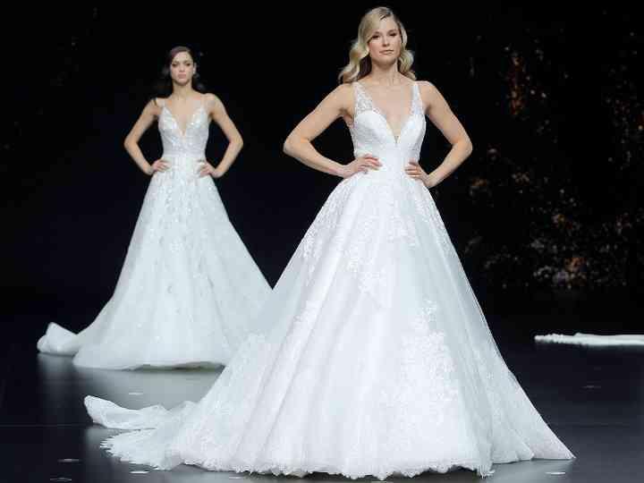 Las 10 tendencias en vestidos de novia para 2020