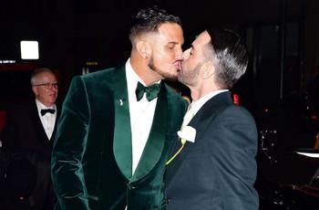 Marc Jacobs y Char Defrancesco marcan estilo en su boda