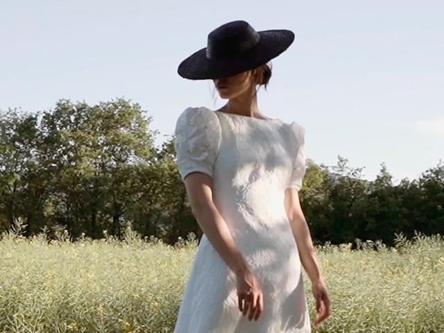 Look de novia en 'black' & 'white'. ¿Te atreves?