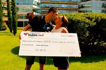 """Una gran sorpresa después del """"sí, quiero"""": ¡conoce a los nuevos ganadores del sorteo de Bodas.net!"""