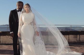 Kim Kardashian celebra su 5º aniversario de boda