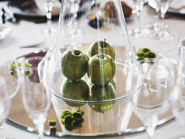 Decorad vuestra boda con manzanas