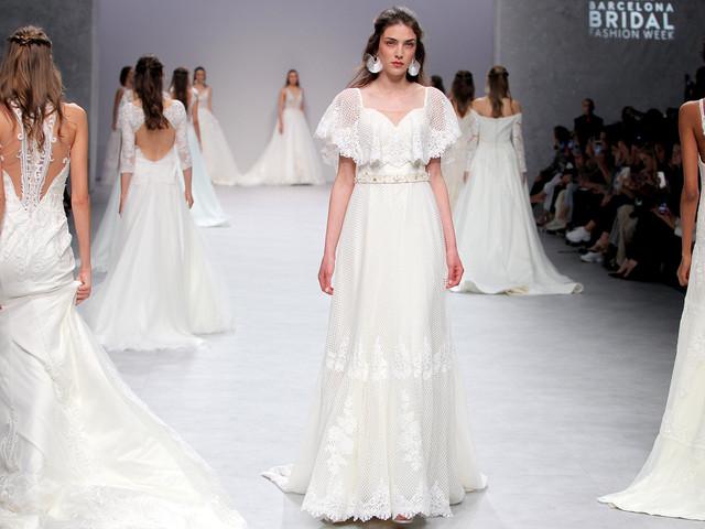 Vestidos de novia María Salas 2020