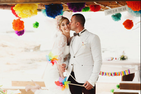 ¿Quieres saber cuáles son los colores de tu boda?