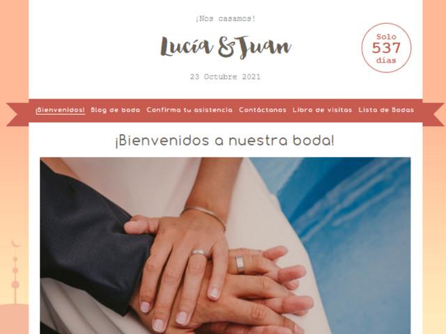 6 buenas razones para hacer la web de boda con Bodas.net