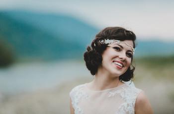 Peinados para bodas con pelo corto: las 20 ideas más chic