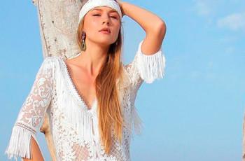José María Peiró for WhiteDay 2021: vestidos de novia perfectos para bodas en el campo o en la playa