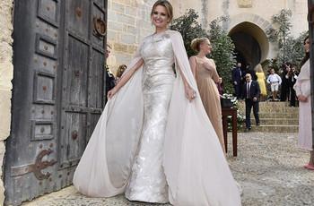 Ainhoa Arteta y Matías Urrea, boda de cuento en Cádiz