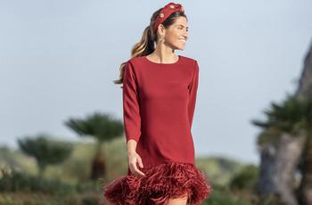 Vestidos de fiesta Cristina Tamborero 2020: color y elegancia