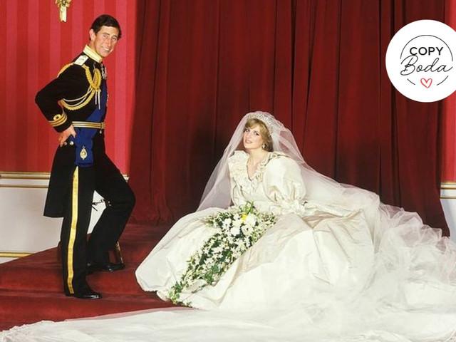 Copy boda: propuestas inspiradas en la boda de Carlos y Diana para vivir un GRAN día increíble