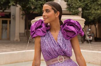 Copy look: María F. Rubíes tiene el vestido de invitada más top de la temporada. ¡Súmate al brilli brilli!