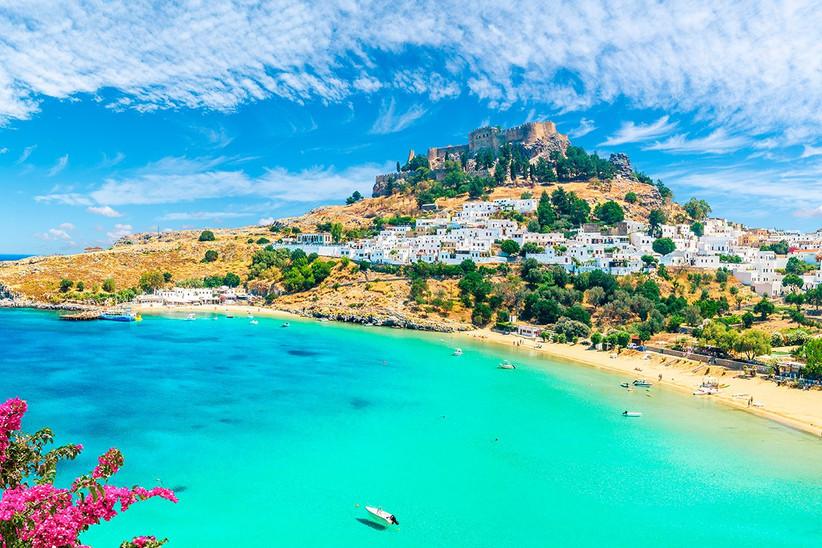 Rodas, Grecia, un destino perfecto antes o después de la boda