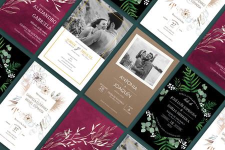 Invitaciones de boda Vistraprint: ¡descubrid cuáles son las 5 tendencias del momento!