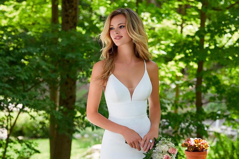 Vestido de novia sencillo Morilee