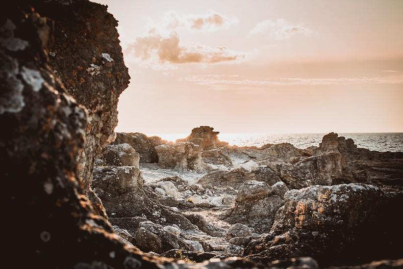 Isla de Gotland, raukar