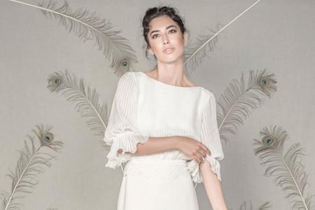 La inspiración natural, clave en la colección de vestidos de novia de Pol Núñez 2021