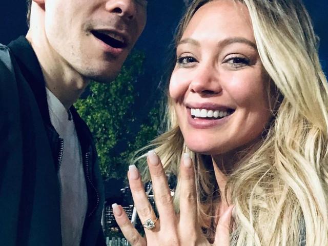 Hilary Duff anuncia su compromiso