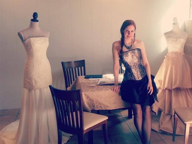 Martha Peters, vestidos de novia muy personales