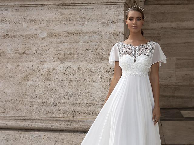 35 vestidos que te harán parecer más delgada en tu boda