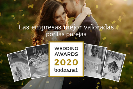 Descubrid a los ganadores de los Wedding Awards 2020 de Bodas.net