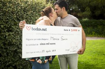 Ellos ya tienen los 5000 euros de Bodas.net. ¡Sed los próximos!