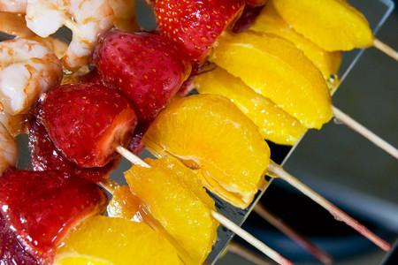 Aperitivos con frutas... ¡irresistibles!