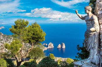 Luna de miel en Capri: la isla de los enamorados