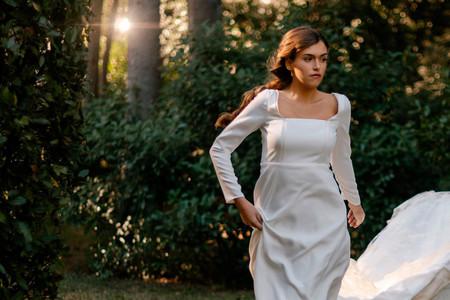 Los vestidos de novia y de fiesta de estilo Bridgerton que todas las fans de la serie querréis tener