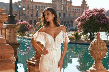 Luce a la última con las tendencias vistas en la New York Luxury Bridal Fashion Week