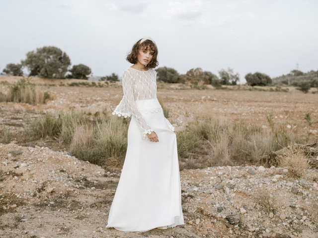 Colección Landing Soul, de L'Avetis: vestidos para novias diferentes