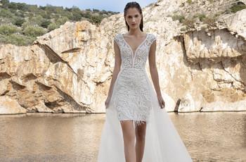 Vestidos de novia cortos: 55 modelos irresistibles