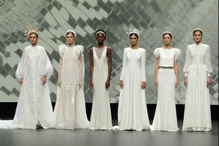 Nueva colección de vestidos de novia modernos de Jesús Peiró para las novias de 2021
