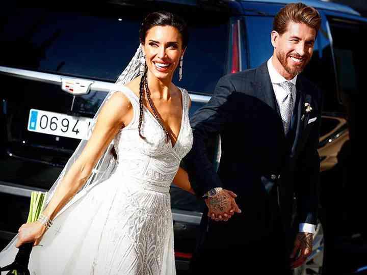 Así ha sido la boda de Sergio Ramos y Pilar Rubio